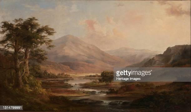 Scottish Landscape, 1871. Artist Robert Seldon Duncanson.
