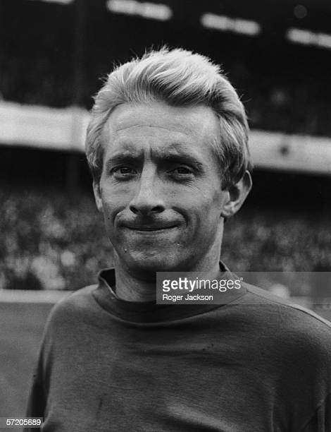 Scottish Manchester United inside left Denis Law 28th September 1965