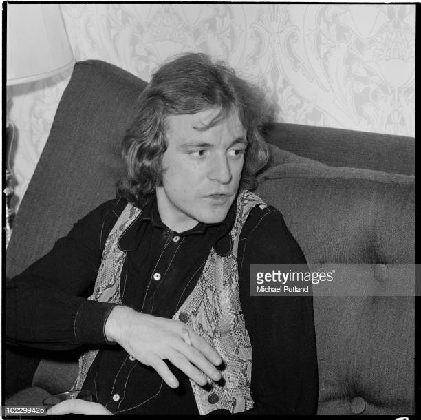 Scottish musician Jack Bruce, formerly of Cream, in London, 17th September 1970.