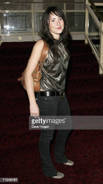 Scottish Musician KT Tunstall arrives at the 51st Ivor Novello Awards at the Grosvenor House Hotel on May 25 2006 in London England