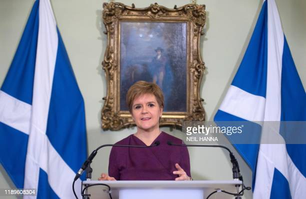 Scottish National Party leader and Scotland's First Minister Nicola Sturgeon sets out the case for a second referendum on Scottish independence...