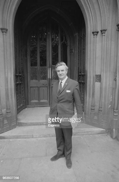 Scottish National Party politician Donald Stewart outside the House of Commons London UK 2nd July 1970