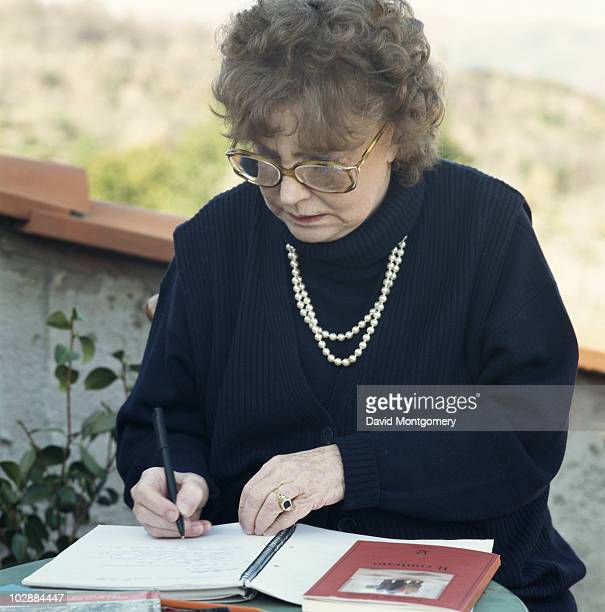 Scottish novelist Dame Muriel Spark 28th July 1994