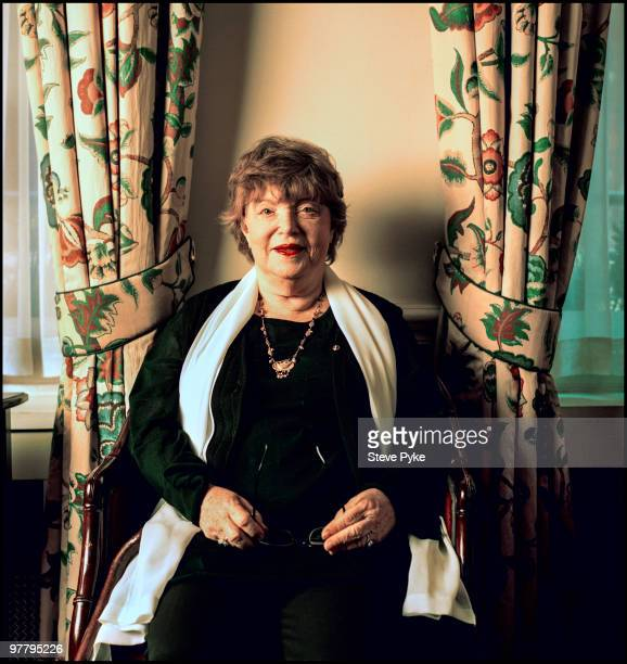Scottish novelist Dame Muriel Spark London 18th March 1997