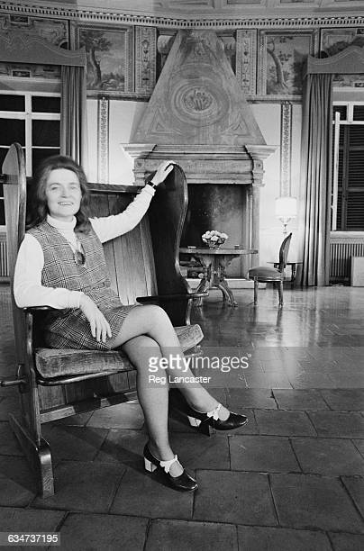 Scottish novelist Muriel Spark UK 16th November 1969