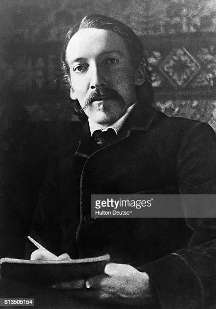 Scottish novelist writer and traveler Robert Louis Stevenson