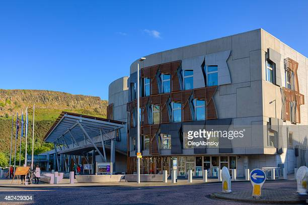 Scottish Parliament Building, Edinburgh, United Kingdom.