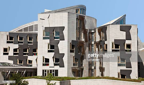 Scottish Parliament Buildings, Holyrood, Edinburgh,