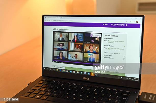 Scottish Parliament Virtual Question Time session in which MSPs had the opportunity to question Scottish Government ministers remotely on the...