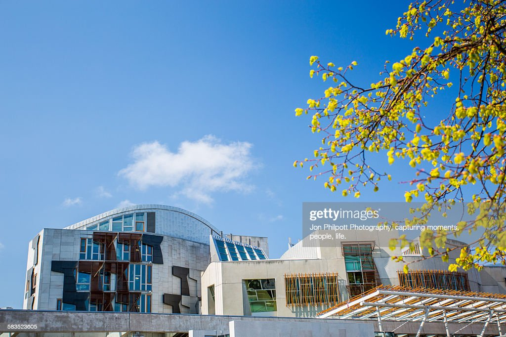 Scottish Parliment Building : Stock Photo