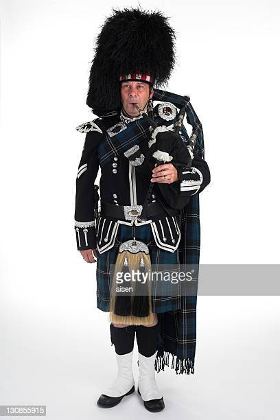 A scottish piper