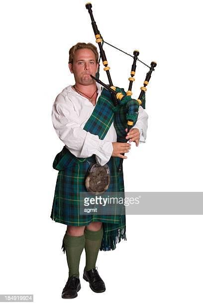 Joueur de cornemuse écossais