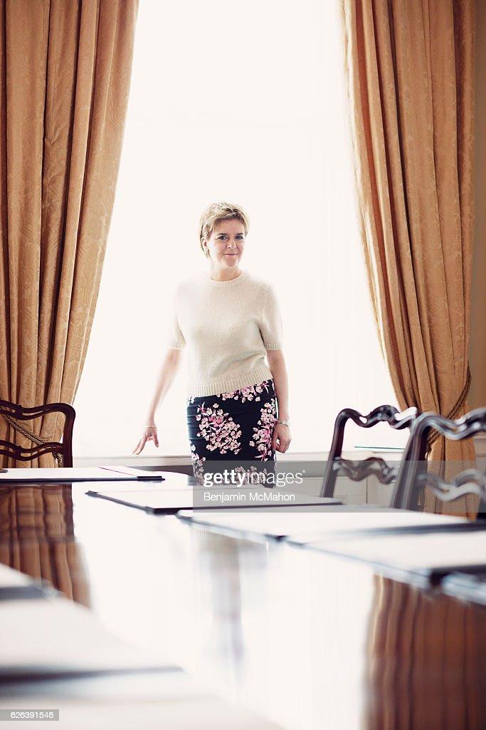 Nicola Sturgeon, Vogue UK, October 1, 2015