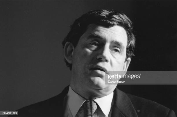 Scottish politician Gordon Brown the British Labour Party's Shadow Chancellor of the Exchequer 24th April 1996
