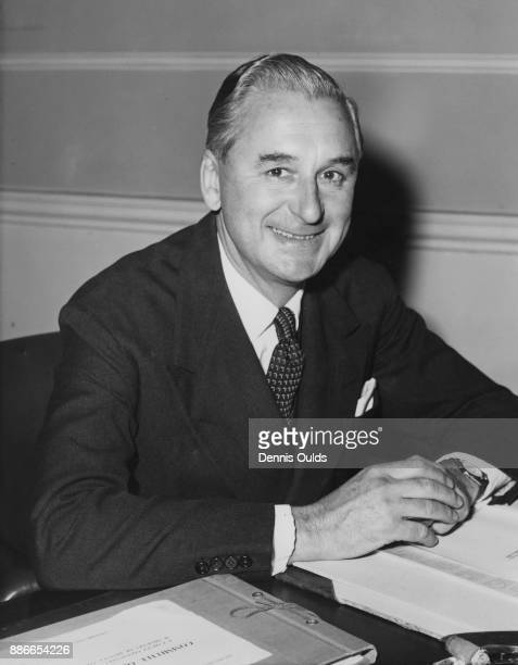 Scottish politician Jack Nixon Browne soon to be Baron Craigton the new Minister of State for Scotland at his office in Whitehall London 22nd October...