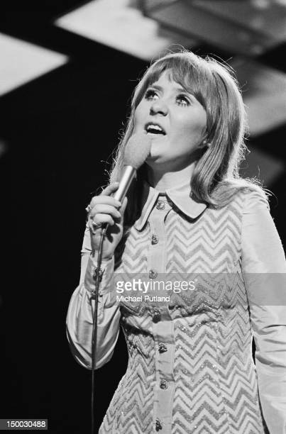 Scottish pop singer Lulu performing on her own BBC TV show 25th January 1969