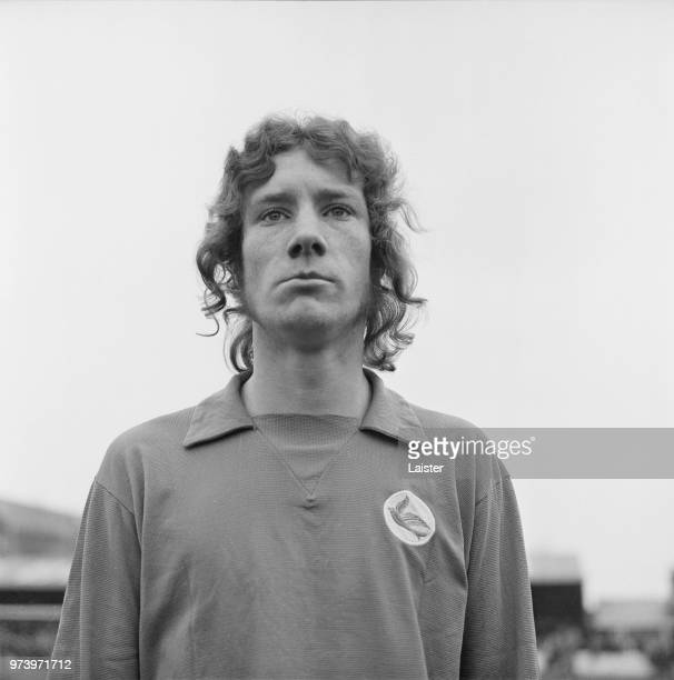 Scottish professional footballer and midfielder with Cardiff City Billy Kellock posed on 25th February 1972