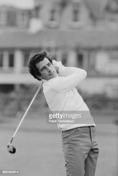 Scottish professional golfer and sports commentator Sam Torrance in action UK 18th July 1978