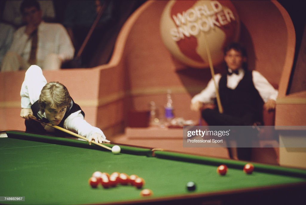 Scottish professional snooker player Stephen Hendry ...