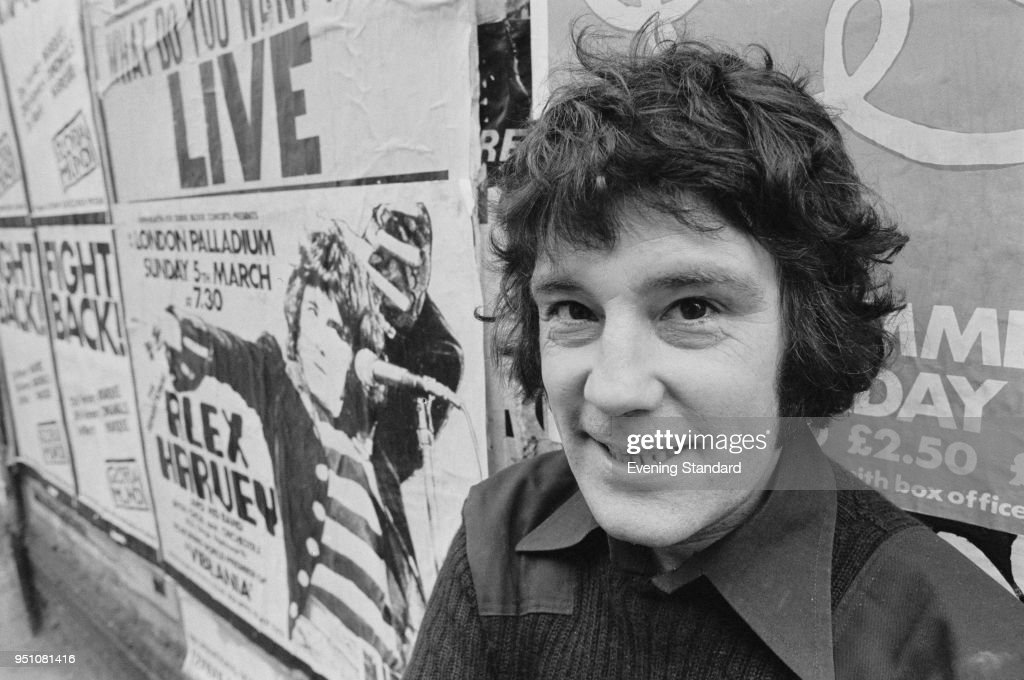 Alex Harvey : News Photo