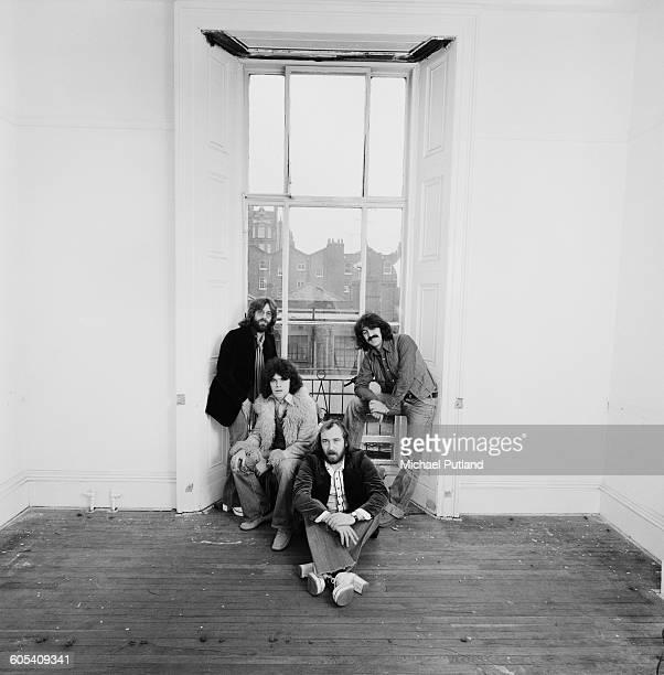 Scottish rock group Nazareth 20th November1975 Left to right drummer Darrell Sweet singer Dan McCafferty bassist Pete Agnew and guitarist Manny...