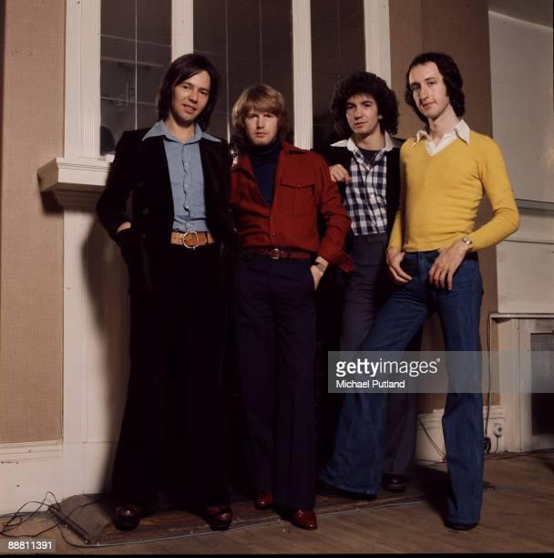 Scottish rock group Pilot London 1975