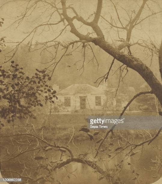 Scottish Scenery. Down by the Tummel and the Banks o' the Garry, Fonab Cottage, Residence of Col. Drummond on the Tummel, James Valentine , 1870s,...