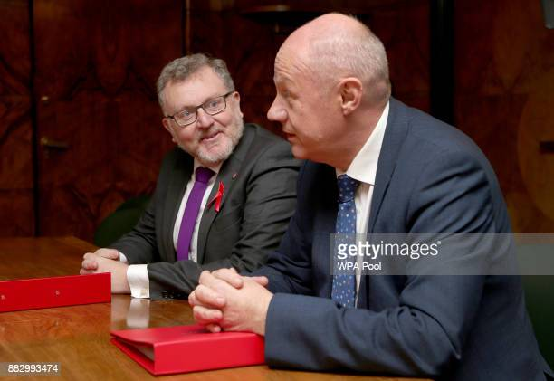 Scottish Secretary David Mundell and First Secretary of State Damien Green meet with Scottish Government ministers to discuss Brexit at St Andrew's...