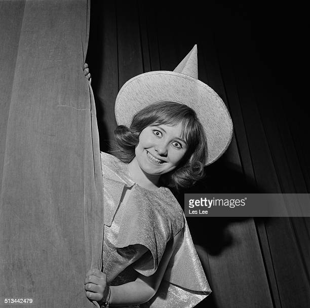 Scottish singer actress and television personality Lulu in stage costume for her part in the pantomime 'Once Upon a Fairytale' 18th December 1964
