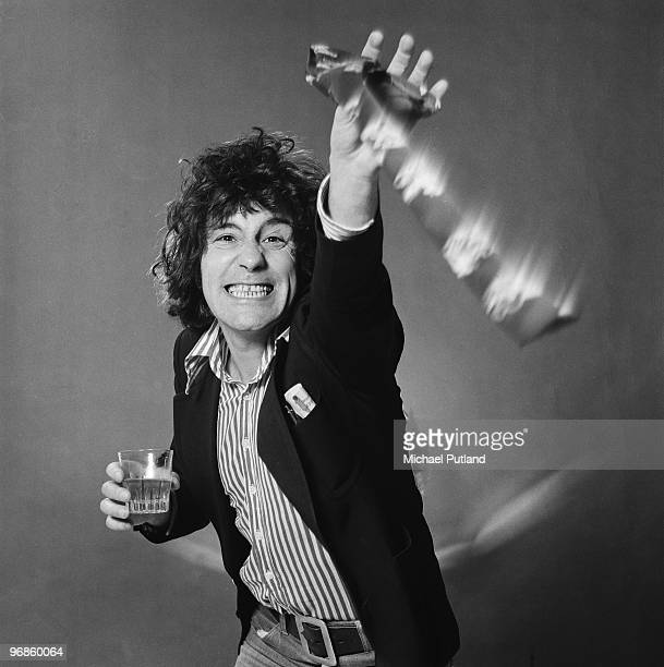 Scottish singer Alex Harvey of The Sensational Alex Harvey Band London 20th October 1975