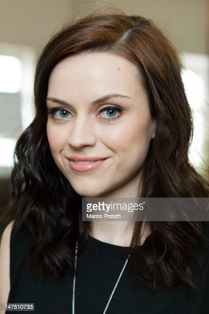 Scottish singer Amy Macdonald is pictured prior to her concert at the Reiche Zeche on July 1 2012 in Freiberg Germany