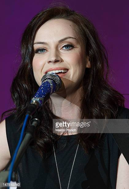 Scottish singer Amy Macdonald performs live on stage at the Reiche Zeche on July 1 2012 in Freiberg Germany