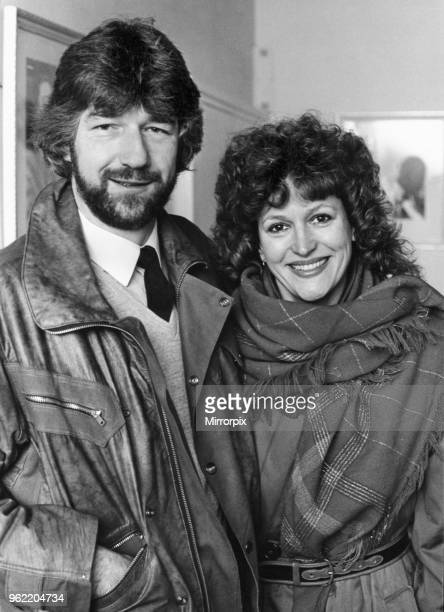 Scottish singer and actress Barbara Dickson with playwright Willy Russell in Liverpool ahead of the opening of Russell's musical Blood Brothers at...