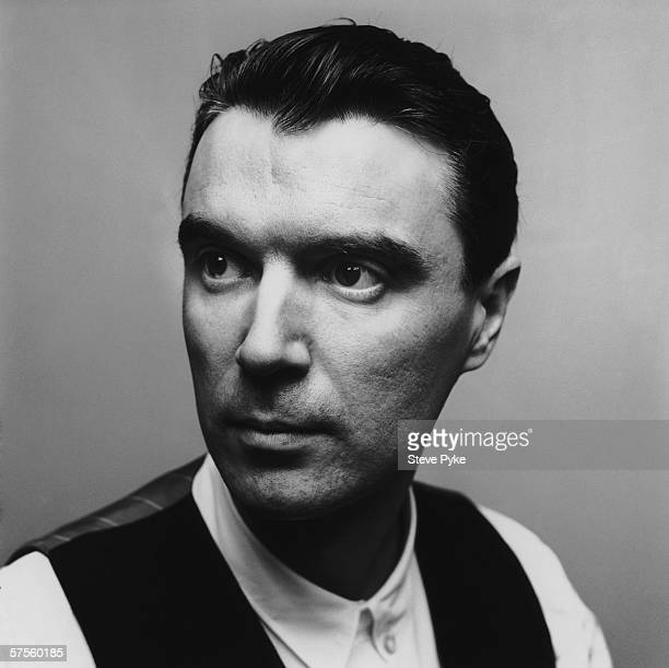 Scottish singer and songwriter David Byrne early 1980s