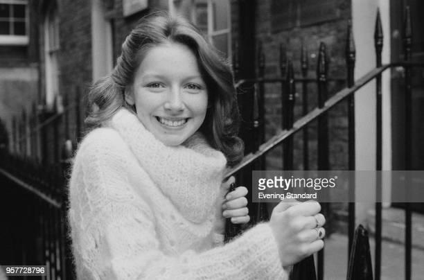Scottish singer and television host Lena Zavaroni , UK, 8th November 1977.