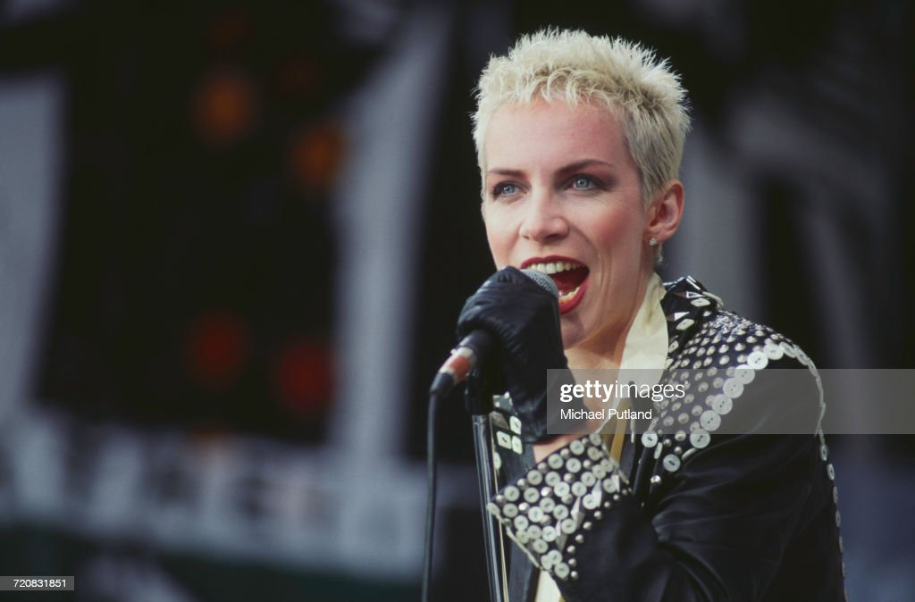 Eurythmics At Wembley : Nachrichtenfoto