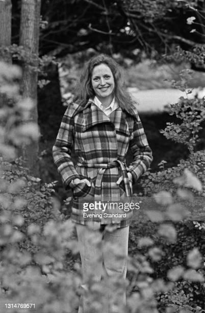 Scottish singer Barbara Dickson, UK, 22nd August 1974.