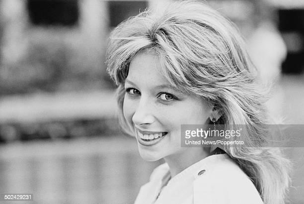 Scottish singer Lena Zavaroni pictured in London on 2nd April 1985.