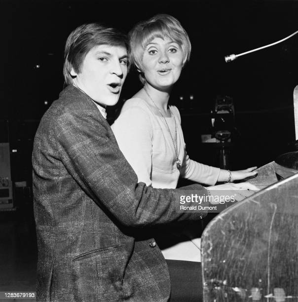 Scottish singer Lulu teams up with Alan Price the former keyboard player of the Animals 14th September 1966