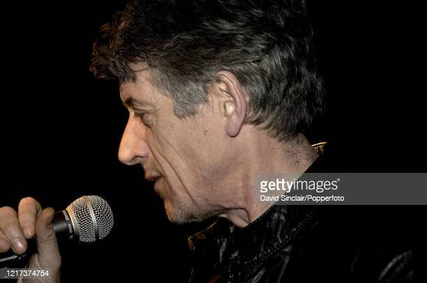 Scottish singer Paul Buchanan of The Blue Nile performs live on stage at Ronnie Scott's Jazz Club in Soho London on 23rd January 2006