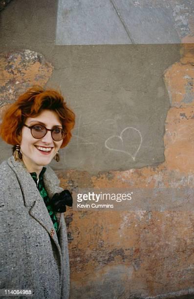 Scottish singer songwriter Eddi Reader of Fairground Attraction circa 1985