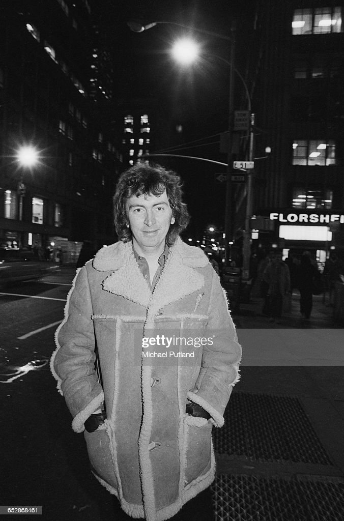 Scottish singer-songwriter Al Stewart, New York, January 1981.