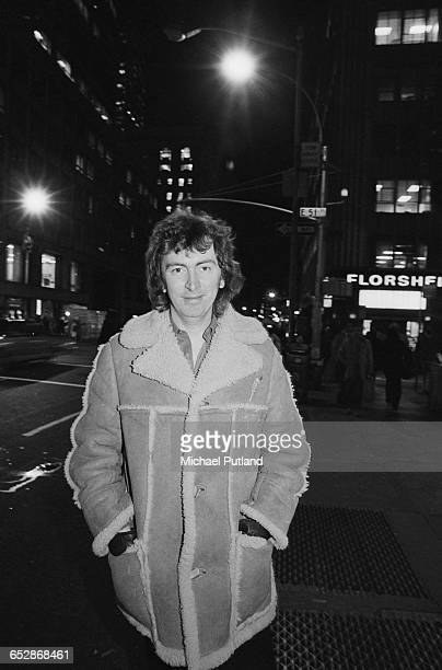 Scottish singersongwriter Al Stewart New York January 1981