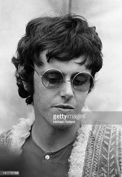 Scottish singersongwriter Donovan backstage at Woburn music festival UK 7th August 1968