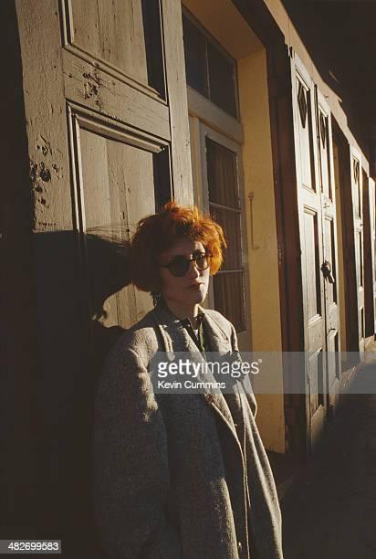 Scottish singersongwriter Eddi Reader of British acoustic pop group Fairground Attraction New Orleans January 1989