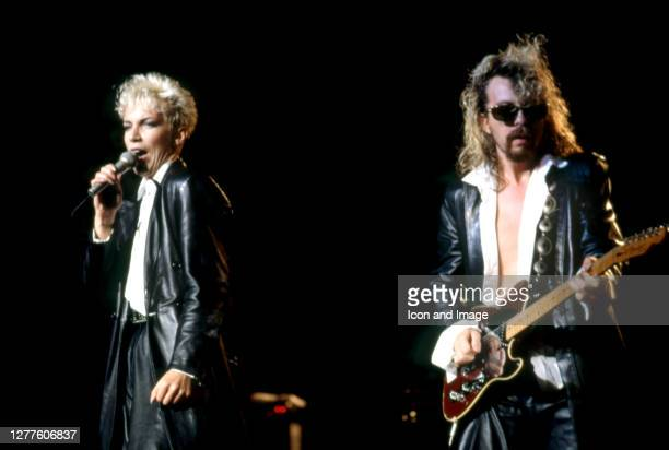 Scottish singer-songwriter, political activist and philanthropist Annie Lennox and English musician, songwriter and record producer Dave Stewart, who...