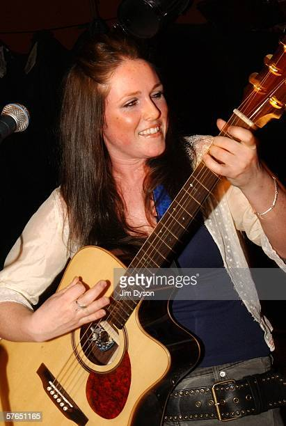 Scottish singersongwriter Sandi Thom performs her first sellout headline London show at the Islington Academy Bar on May 18 2006 in London England