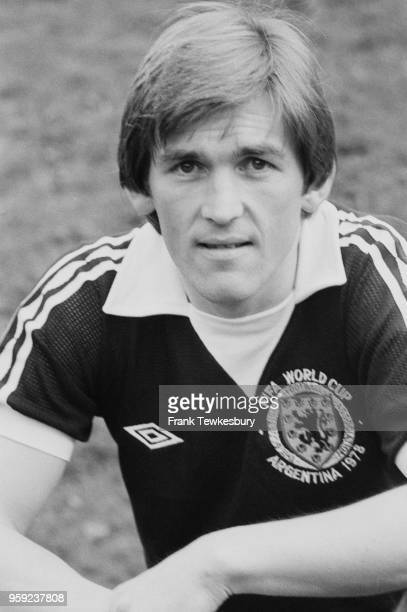 Scottish soccer player and manager Kenny Dalglish UK 22nd May 1978