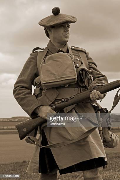 Écossais soldat Première Guerre mondiale.