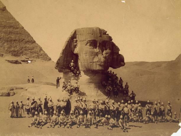 Scots At Sphinx Wall Art